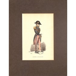 Gravures [Militariat] PAUQUET, Hippolyte.- OFFICIER D'ETAT-MAJOR.