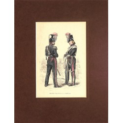 ABAO Gravures [Militariat] PAUQUET, Hippolyte.- GARDE NATIONALE A CHEVAL.