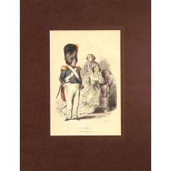 Gravures [Militariat] PAUQUET, Hippolyte.- VOLTIGEUR (Garde Nationale).