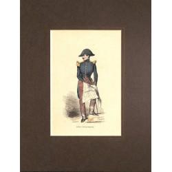 Gravures [Militariat] PAUQUET, Hippolyte.- ECOLE D'ETAT-MAJOR.