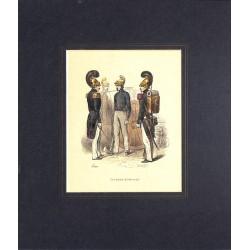 ABAO Gravures [Militariat] PAUQUET, Hippolyte.- SAPEURS-POMPIERS.