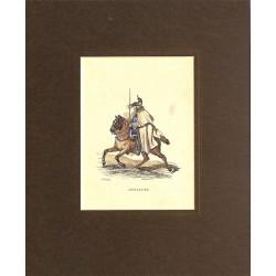Gravures [Militariat] LAMY, Eugène-Louis.- CUIRASSIER.