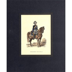 Gravures [Militariat] LAMY, Eugène-Louis.- GENDARMERIE MUNICIPALE.
