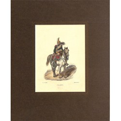 Gravures [Militariat] LAMY, Eugène-Louis.- DRAGON.