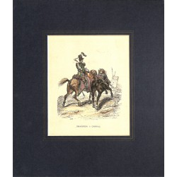 ABAO Gravures [Militariat] CHASSEUR A CHEVAL.