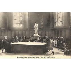 ABAO 75 - Paris [75] Paris - Eglise Notre-Dame de Clignancourt. Sacristie des Mariages.