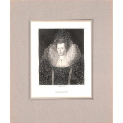Gravures HOLL, William. (1807-1871) - ELIZABETH.