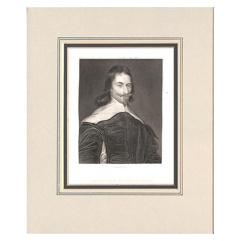 Gravures HUNT, T.W. - ARCHIBALD, first marquis of Argyll.
