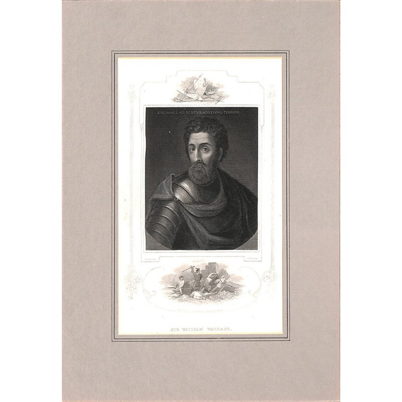 ABAO Gravures ARMYTAGE, James Charles (1820-1897) - SIR WILLIAM WALLACE.