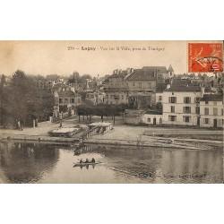 77 - Seine-et-Marne [77] Lagny - Vue sur la Ville, prise de Thoriguy.