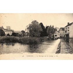 77 - Seine-et-Marne [77] Nemours - Le Barrage sur le Loing.