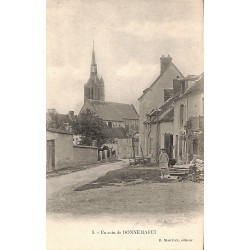 ABAO 77 - Seine-et-Marne [77] Donnemarie-Dontilly - Un coin de Donnemarie.