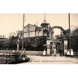 ABAO 77 - Seine-et-Marne [77] Barbizon - Hôtel Bellevue. Rue des Charmettes.
