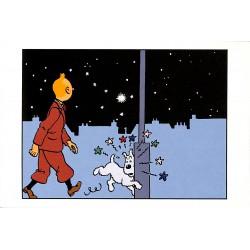 Cartes postales Tintin - Carte postale Moulinsart 035