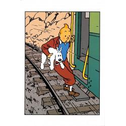 Cartes postales Tintin - Carte postale Moulinsart 042