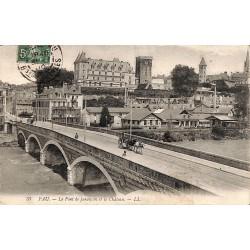 ABAO 64 - Pyrénées Atlantiques [64] Pau - Le Pont de Jurançon et le Château.