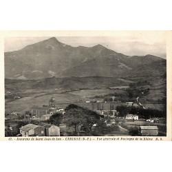 ABAO 64 - Pyrénées Atlantiques [64] Urrugne - Vue générale et Montagne de la Rhûne.