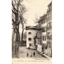 ABAO 64 - Pyrénées Atlantiques [64] Bayonne - La Tour et le Rempart de Lechepaillet.