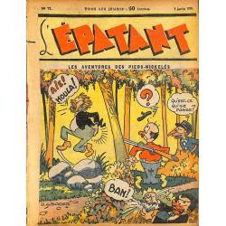 ABAO Bandes dessinées L'Epatant n°071 - 05/01/1939