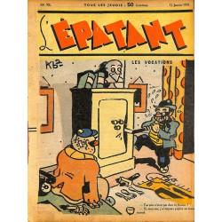 ABAO Bandes dessinées L'Epatant n°072 - 12/01/1939