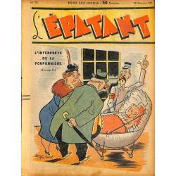 ABAO Bandes dessinées L'Epatant n°070 - 29/12/1938