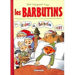 Bandes dessinées Les Barbutins 01 TT 350 ex. HC, n° et signé.