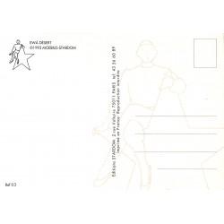 ABAO Cartes postales Moebius - Ewà Désert. Carte postale Stardom 03.