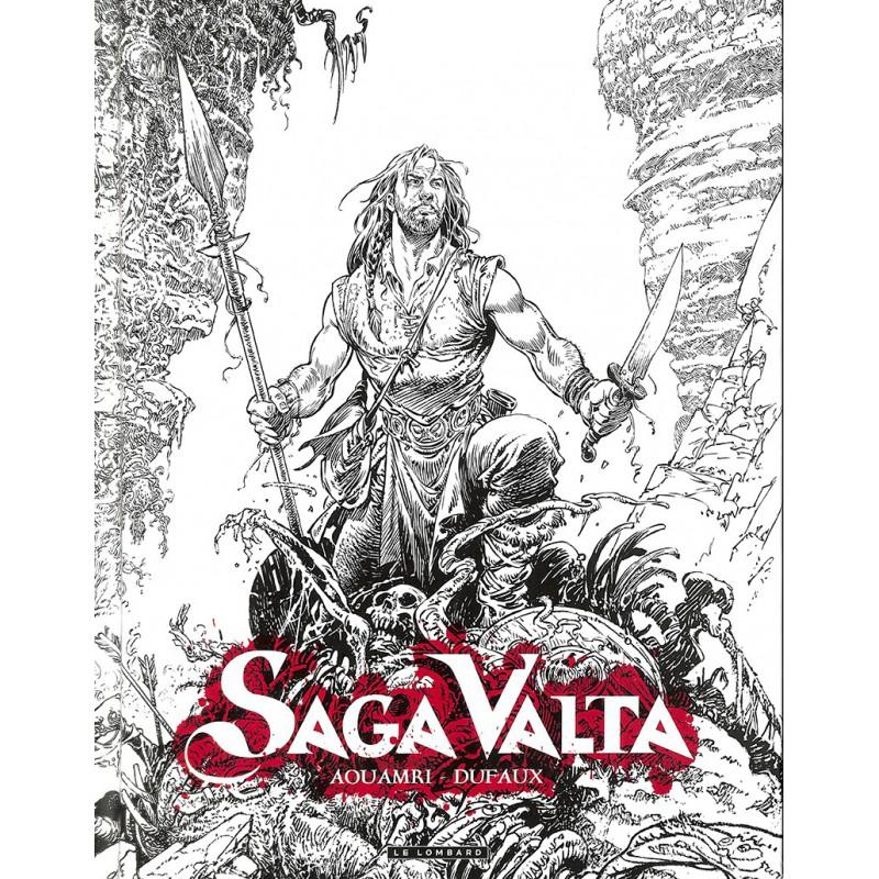 ABAO Bandes dessinées Saga Valta 01 TL + Cahier graphique de 8 pages.