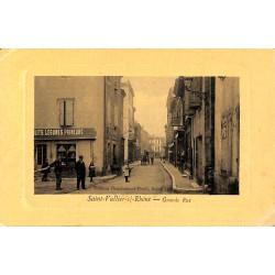 ABAO 26 - Drôme [26] Saint-Vallier-sur-Rhône - Grande Rue.