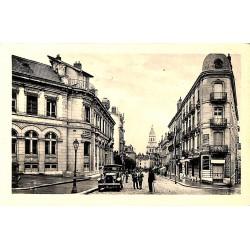 01 - Ain [01] Bourg-en-Bresse - Avenue Alsace-Lorraine et la Poste.