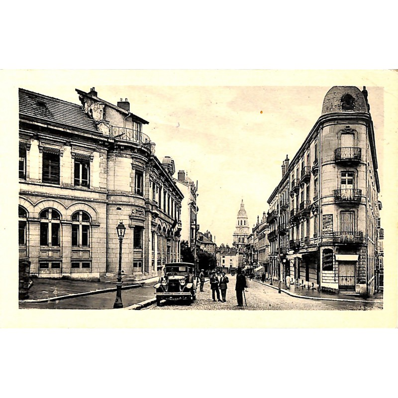 ABAO 01 - Ain [01] Bourg-en-Bresse - Avenue Alsace-Lorraine et la Poste.