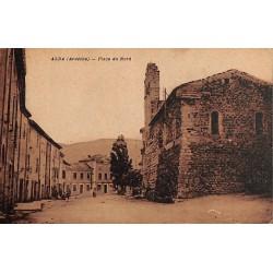 ABAO 07 - Ardèche [07] Alba-la-Romaine - Place du Nord.