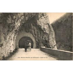 73 - Savoie [73] Route de Moutiers au St-Bernard - Défilé de Siex.