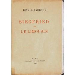 Littérature Giraudoux (Jean) - Siegfried et le limousin.