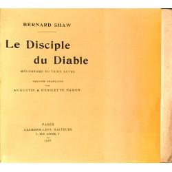 Grands papiers Shaw (Bernard) - Le Disciple du Diable. EO.