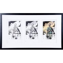 ABAO Sérigraphies & posters Michetz - Ensemble de 3 sérigraphies TL 5 ex.
