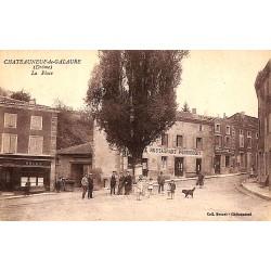 ABAO 26 - Drôme [26] Châteauneuf-de-Galaure - La Place.