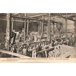 ABAO 42 - Loire [42] Saint-Chamond - Etablissements Chavanne-Brun Frères. Fonderie. Atelier d'Ebardage d'obus.