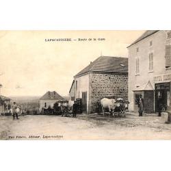 ABAO 42 - Loire [42] La Pacaudière - Route de la Gare.