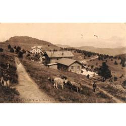 ABAO 73 - Savoie [73] Aix-les-Bains - Le Revard et le Mont-Blanc.