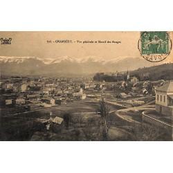 73 - Savoie [73] Chambéry - Vue générale et Massif des Bauges.