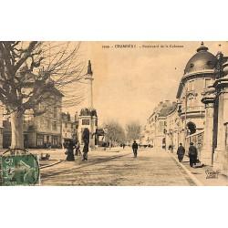73 - Savoie [73] Chambéry - Boulevard de la Colonne.