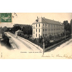 ABAO 73 - Savoie [73] Chambéry - Lycée de jeunes filles.