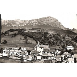 73 - Savoie [73] Entremont-le-Vieux - Vue générale. Vallée du Cozon. Le Granier.