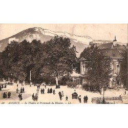 ABAO 74 - Haute Savoie [74] Annecy - Le Théâtre et Promenade du Pâquier.