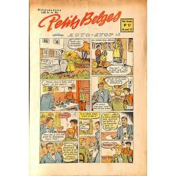 ABAO Bandes dessinées Petits Belges 34e année n°17 - 26/05/1953