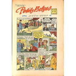 ABAO Bandes dessinées Petits Belges 34e année n°25 - 21/06/1953