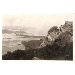 83 - Var [83] Porquerolles - Panorama vers la Pointe Bon-Renaud.