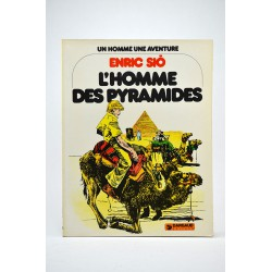 Bandes dessinées L'homme des pyramides