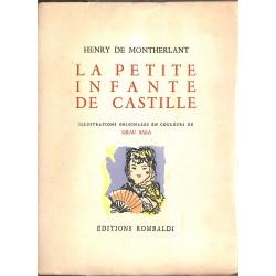 ABAO Littérature Montherlant (Henry de) - Le Petite infante de Castille.